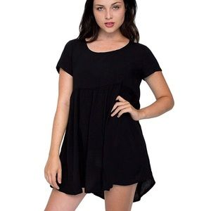 American Apparel Black Babydoll